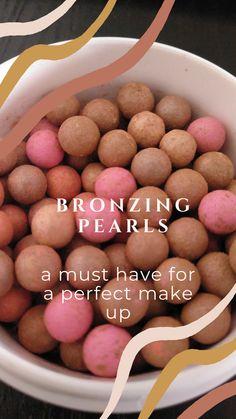 Nu Skin, Bronzing Pearls, Bronze Makeup, Pearl Color, Anti Aging Skin Care, Etsy Seller, Skin Colors, Make Up, Sun Kissed