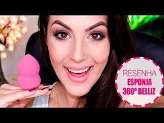 Makeup Neutra com delineado gatinho - YouTube