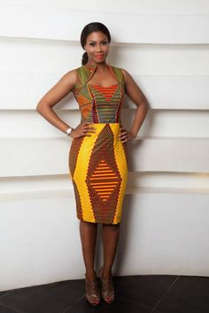 Africanprint ~African fashion, Ankara, kitenge, African women dresses, African p… African Fashion Ankara, Ghanaian Fashion, African Inspired Fashion, African Print Fashion, Africa Fashion, Ethnic Fashion, Fashion Prints, Men's Fashion, Nigerian Fashion