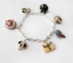 How To Train Your Dragon inspired Charm Bracelet by SweetPandaFish, $25.99