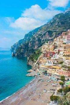 Positano, Amalfi Coast, Italy  . . . . . . .  . . . . . . . . . @CaitGreenho @ReadySetCiao