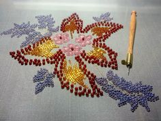 stitching in the pursuit of happiness: NY City Tambour Embroidery Class