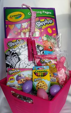 Diy shopkins tutu easter basket shopkins easter baskets and easter by bhuffmancreations on etsy negle Gallery
