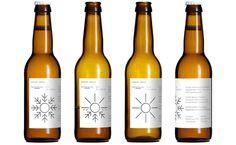 Temperature sensitive beer label for Mikkeller