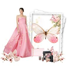 Нежный Образ by tggalkina on Polyvore featuring косметика, Ted Baker, Reem Acra, Jessica Simpson, Christian Dior, Too Faced Cosmetics, MAC Cosmetics, Vince Camuto and Betsey Johnson