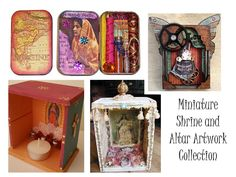 Shadowboxes, Altars and Shrines: Inspired by Miniature Art : Prairie Hive