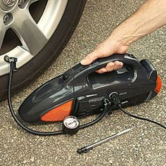 Auto Care Kit - Vacuum, Tire Inflator and Emergency Tools