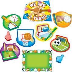 All-Star Sports Bulletin Board Set @really good stuff