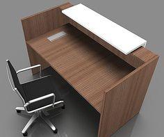 Compact Reception Desk