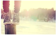 This describes exactly how I feel when I see a wonderful pair of converse:)