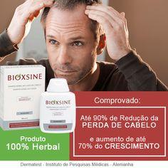 Ensaios clínicos comprovaram que, após dois meses de uso, o Shampoo e o Tônico Serum BIOXSINE preveniram a queda de cabelo em 90% e auxiliou o crescimento dos fios em 80% dos participantes que utilizaram os produtos. Saiba mais: http://www.capellux.com/idioma-portugues/bioxsine.asp