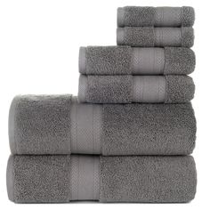 Take a trip to the spa without leaving your home with the Baltic Linen Endure Luxury Cotton 6 Piece Towel Set . Swathe yourself in these luxurious towels. Bathroom Towels, Bath Towels, Decorative Hand Towels, Linen Company, Linen Store, Luxury Towels, Travel Toiletries, Bath Linens, Bath Towel Sets