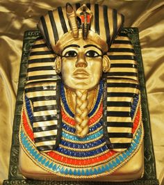King+Tut+Birthday+Cake+-+Cake+by+Kendra's+Country+Bakery
