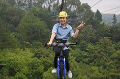 Sky cycling Eden Resort