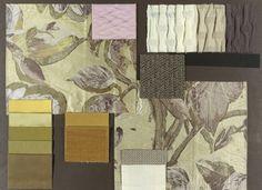 Showing BROCHIER fabrics: Regina Coeli, Bosforo, Ucciardone, Meo Patacca, Coviello, Zanni, Undici, Poggioreale, Dodici and Secondigliano. http://brochier.it/fabrics/design-inspiration/010-avorio-giallo-luce/