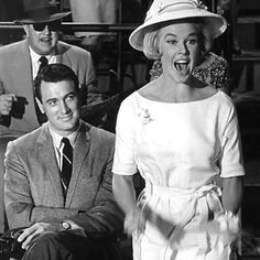Classic Doris Day (like how Rock Hudson is looking at her)