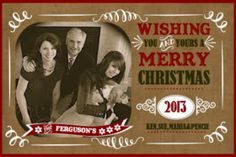"Creative ""Try""als: DIY Photo Christmas Card"