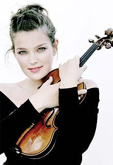 Janine Jansen. An angel without wings. Wow. Stunning. That is the only word I can say.