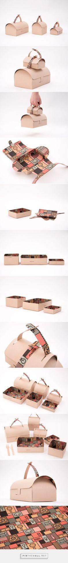 Kino Take Away #concept #packaging designed by Gustav Karlsson