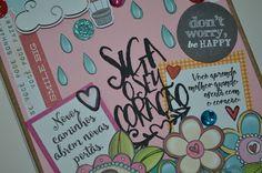 MEMÓRIA CRIATIVA SCRAPBOOK: AGENDAS PERSONALIZADAS 2017 Scrapbook, Happy, Creativity, Day Planners, Scrapbooking, Ser Feliz, Guest Books, Scrapbooks, Being Happy