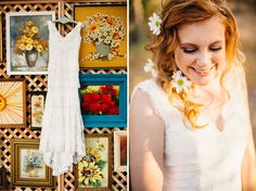 Our bride Hailey glows from the inside out. See the whole wedding featured on http://greenweddingshoes.com/whimsical-california-morning-wedding-hailey-jonathan/