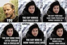 Sucks to be Ser Jorah, Game of Thrones.