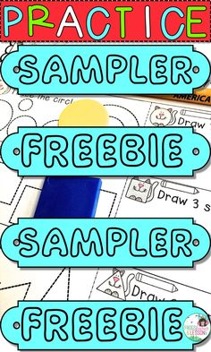 FREE First Grade Math Practice Worksheets. One page from each: Counting to 120, Adding to 20, Subtracting from 20, Fractions, Measurement, Telling Time, Shapes, Graphing, and Place Value! Click through to download!