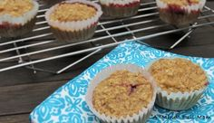 Peanut Butter and Jelly Muffins via @amindfullmom