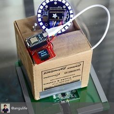 What do you plan to build this weekend? Repost from @angulife Just posted a Prototype Demo Video of my Universal Smart Home Remote (wirelessly charged!) to my YouTube. Link in my bio #photon #particleiot #particlephoton #particle #circuitboards #arduino #electronics #iot #adafruit by particle_io