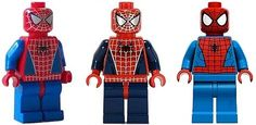 LEGO Spider Man through the years Spiderman Marvel, Lego Marvel, Avengers, Awesome Lego, Cool Lego, Lego Lego, Legos, Lego Pictures, Lego People