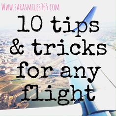 I think I can safely call myself an air travel expert...okay, that might be stretching it, but let's just go with it for now. Come this weekend I will have been on 17 flights this year alone. I hav...