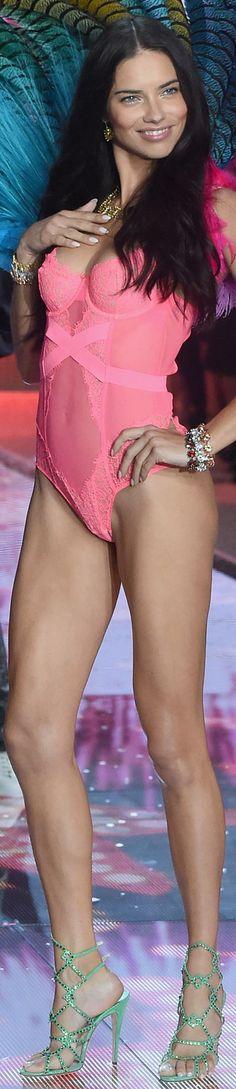 Adriana Lima 2015 Victoria Secret Fashion Show