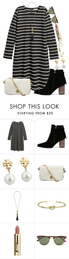 """So close to 1000!"" by madelyn-abigail ❤ liked on Polyvore featuring H&M, Tory Burch, Kenneth Jay Lane, Bling Jewelry, Ray-Ban, women's clothing, women's fashion, women, female and woman"