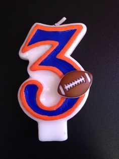 Florida gator birthday candle by TheCraftyPair on Etsy, $10.00