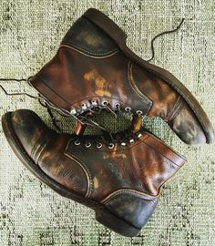These are literally the coolest boots I have ever seen