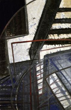 Pintura orgánica Autor: Hector Inda Año: 2014 Stairs, Sculpture, Abstract, Painting, Author, Pintura, Ladders, Stairway, Painting Art