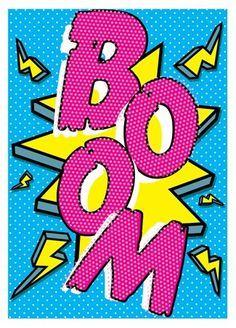 Boom! - Pop Art Implosion! #Wallpaper #Background #Patterns #Print #PapelDeParede #Desenhos #Ilustrações #FundoDeTela #Textura #Texture #Celular #Iphone #ilustrações #Illustration #arte #art #desenho #print #Graphics #Watercolor #Croquis #inspiration #inspiração #design #FashionIllustration #FashionPrint #FashionGraphics