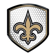 New Orleans Saints Shield Style Reflector