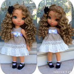 Disney animators doll ooak enixeatelier by Enixeatelier on DeviantArt Disney Princess Dolls, Disney Dolls, Disney Disney, Ooak Dolls, Reborn Dolls, Disney Animator Doll, Doll Repaint, Collector Dolls, Custom Dolls