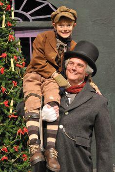 """""""A Christmas Carol"""" - Kelsey Grammer as Scrooge."""
