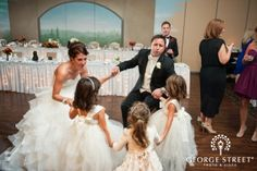 Weddings are fun for the whole family at Avalon Manor Banquet Center, Merrillville, Indiana.