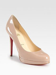 Christian Louboutin - New Simple 120 Patent Leather Pumps