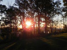 Sunrise Fort Boreman Hill...Parkersburg WV