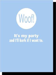 Puppy shower invitations! lol