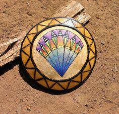 Gourd pendant by L. Kelly