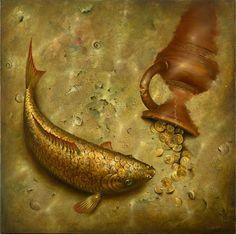 Realistic paintings and Creative thinking of Artist Vladimir Kush