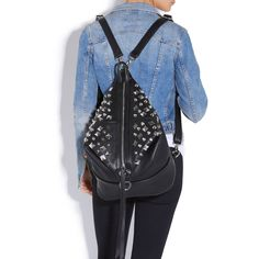 love! this can be a backpack or regular purse