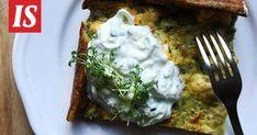 Uunissa paahtuneet fetasattumat tekevät pinaattipannarista superhyvän. Eggs, Breakfast, Food, Morning Coffee, Essen, Egg, Meals, Yemek, Egg As Food