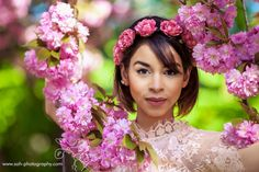 Cherry blossom photoshoot in Vienna