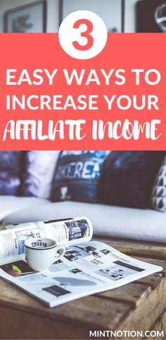 Affiliate marketing tips for beginners. Make money from affiliate marketing Make Money Blogging, Make Money From Home, Way To Make Money, Money Tips, Online Surveys For Money, Make Money Online, Affiliate Marketing, Online Marketing, Digital Marketing